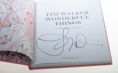 Gesigneerde catalogus Tim Walker